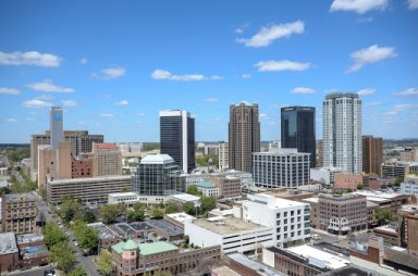 Birmingham, Alabama. Big businesses bring jobs to regions based upon census information