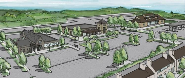 The Bray at Liberty Park concept drawing