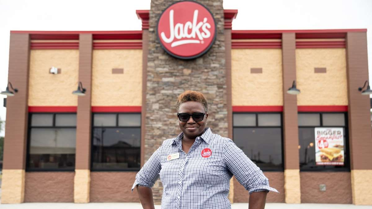 From backline cook to general manager, Fonstella Gosa has been a part of the Jack's family for 28 years