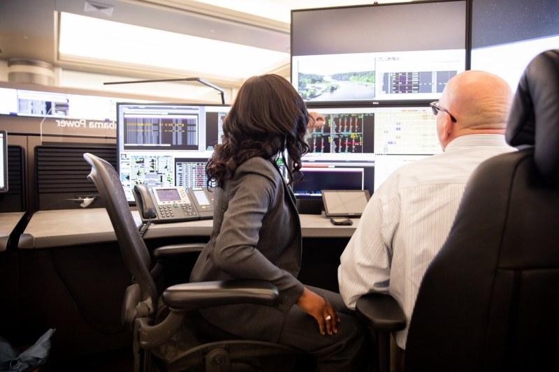 Shardra Scott, Alabama Power's System Operation Manager in the Birmingham Control Center