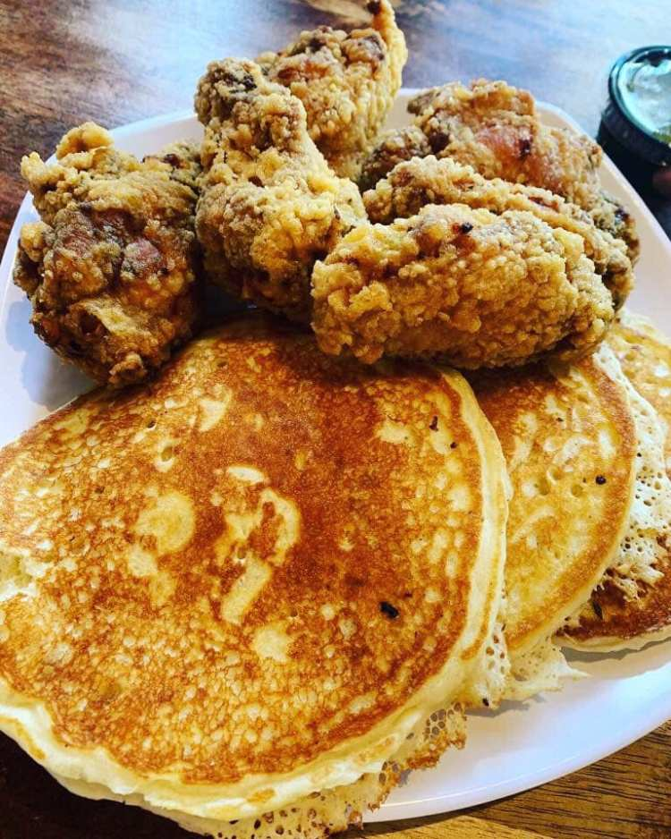 Birmingham, Yo Mama's, breakfast, brunch, food, pancakes