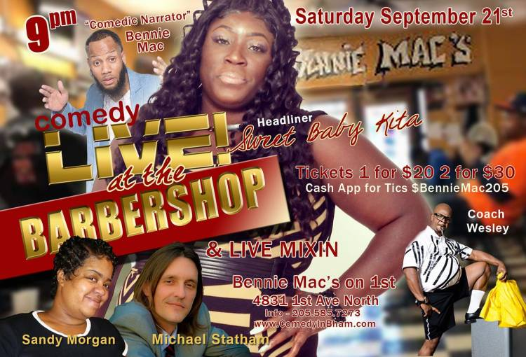 SNL Live at the Barber Shop Comedy Series