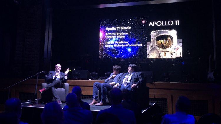 Apollo 11 documentarians interviewed by Dennis Leonard