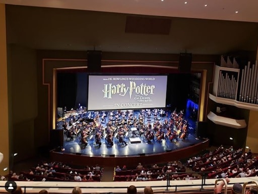 The ASO will perform Harry Potter live