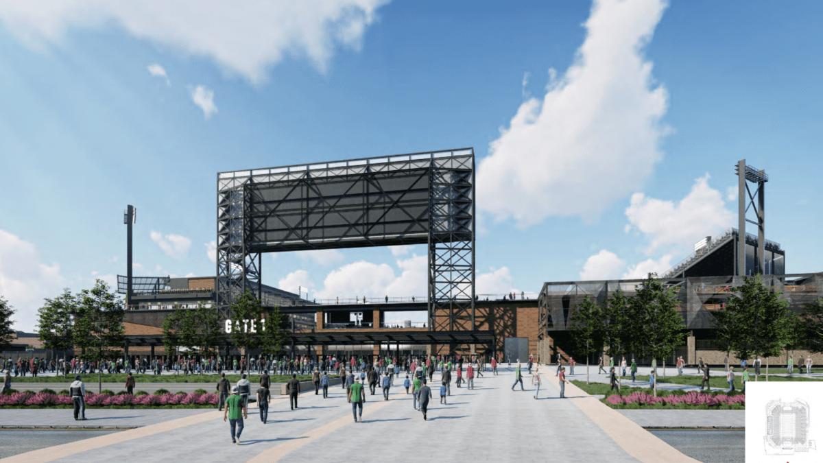 Here's a sneak peak at the Protective Stadium design