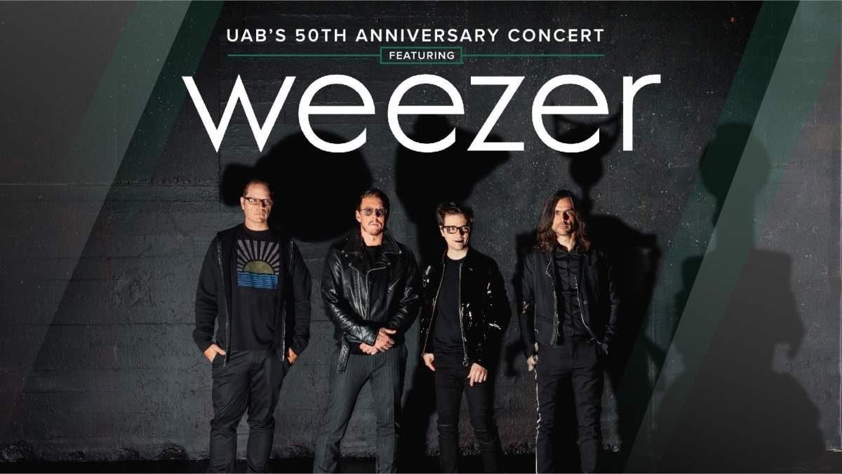 Celebrate UAB's 50th anniversary with a free Weezer concert on Oct. 18th
