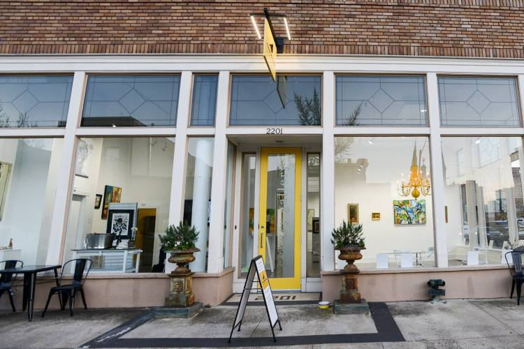 The Canary Gallery is just one of the businesses on 2nd Avenue North.