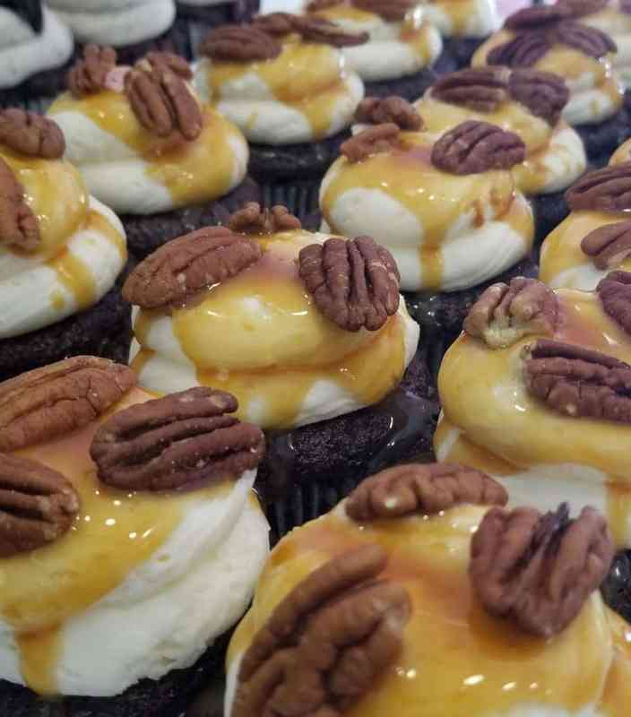 Pecan cupcakes like these will be at Taste of Freedom.