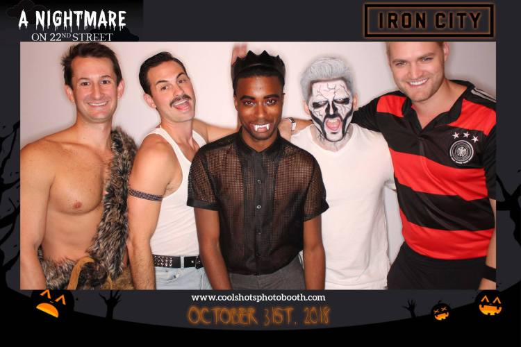 Bring your favorite costume to A Nightmare on 22nd Street at Iron City