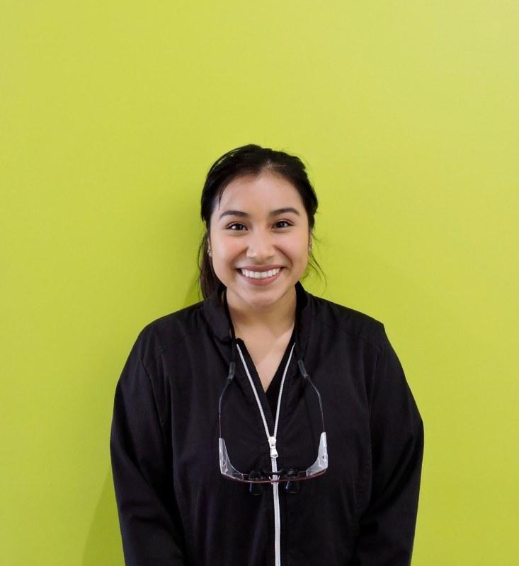 Marilu Domingo, a hygienist at MCD