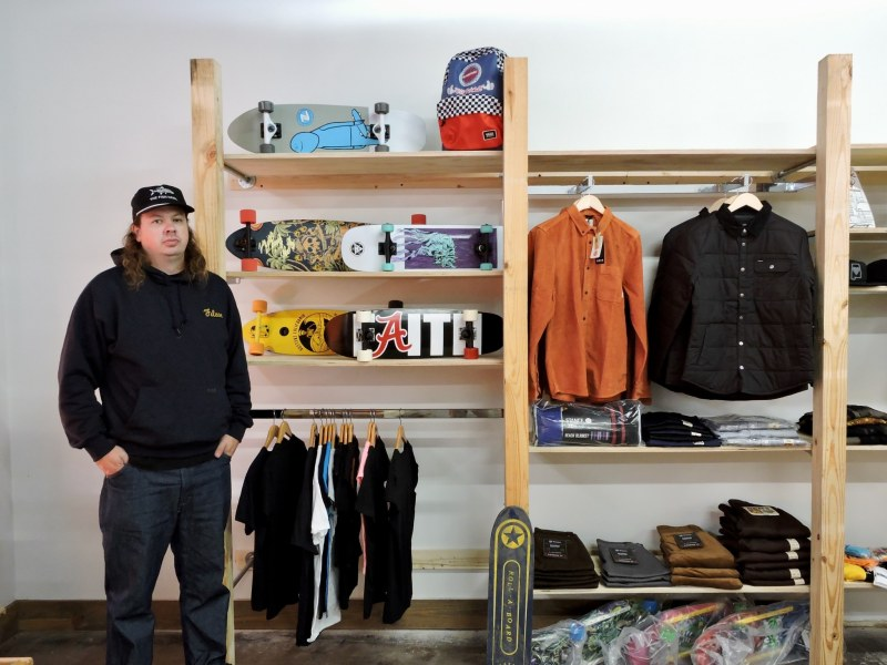 Jon Tubbs, founder of ORE Mercantile. Photo by Nathan Watson for BhamNow