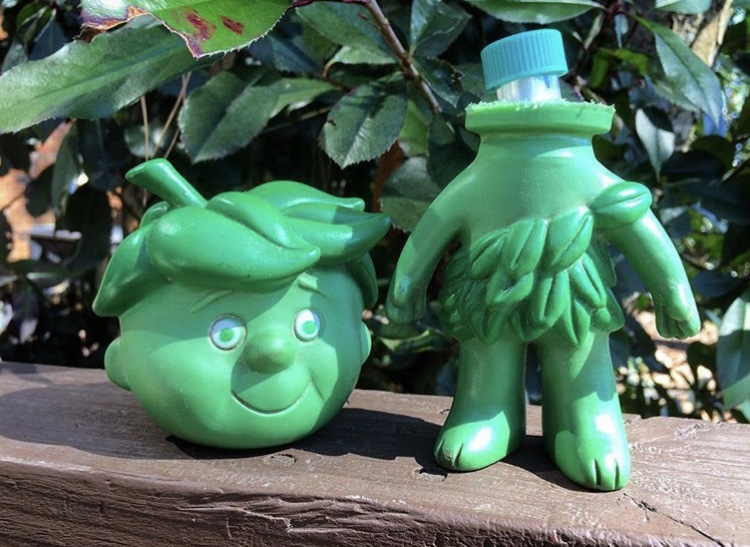 Sprout hides a geocache in Birmingham