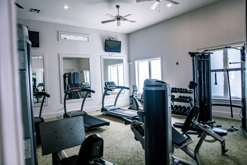 Exercise room at The Eastbury
