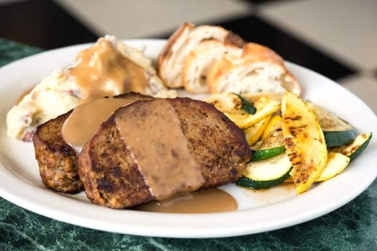 Birmingham, Metro Diner, food, meatloaf