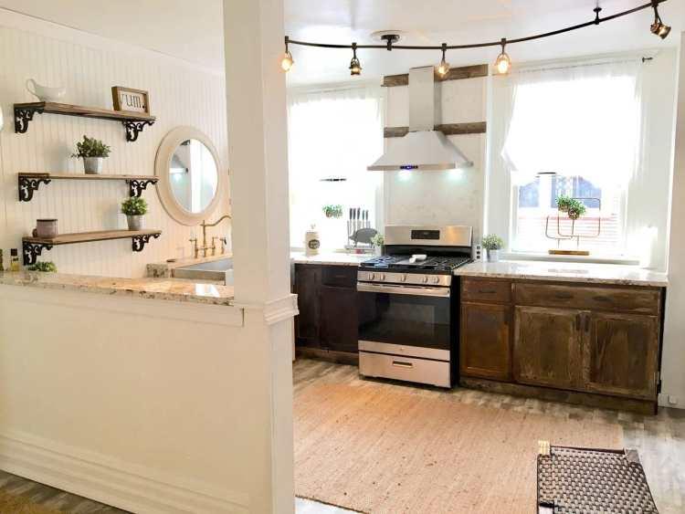 A Birmingham home's kitchen.