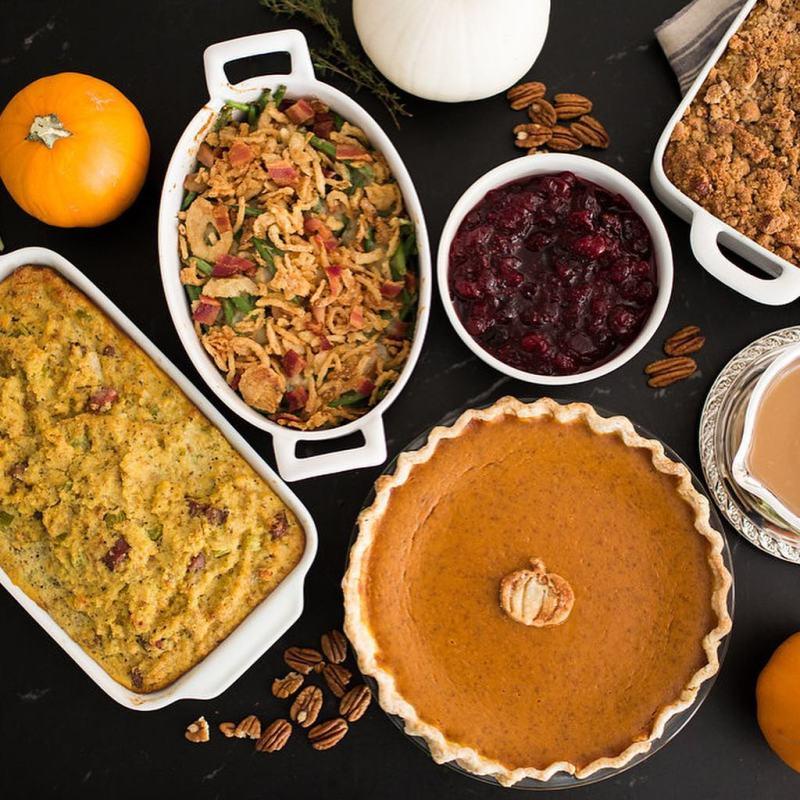 Birmingham, Homewood Gourmet, Thanksgiving, meals, food, cornbread, dressing, stuffing