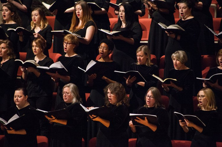 ASO Chorus singing Handel's Messiah