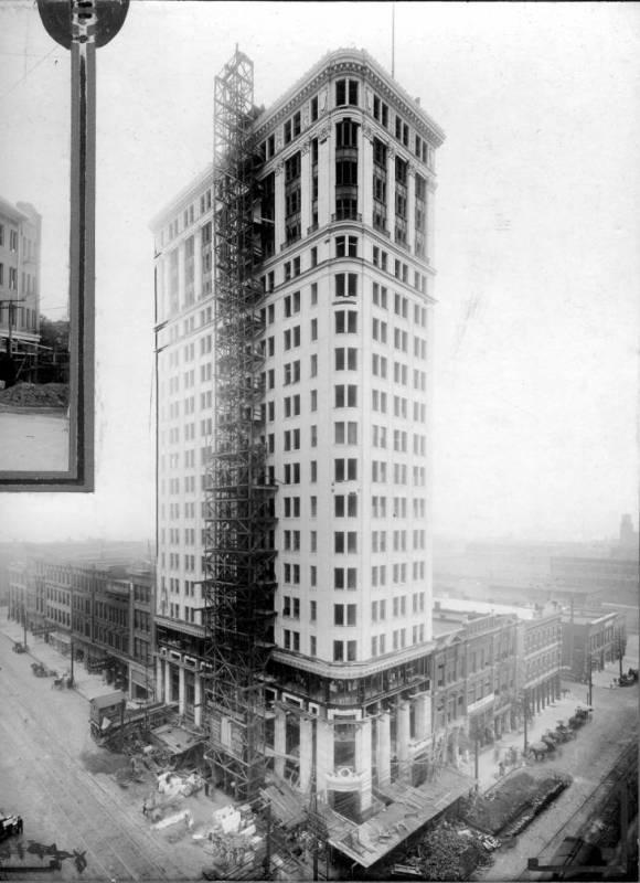 John Hand Building in 1912