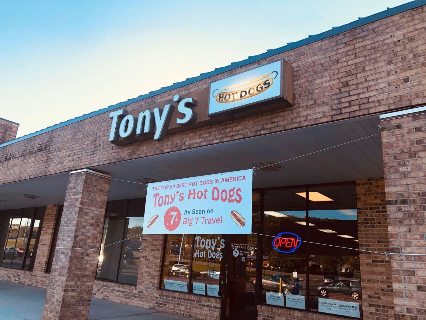 Tony's Hot Dogs