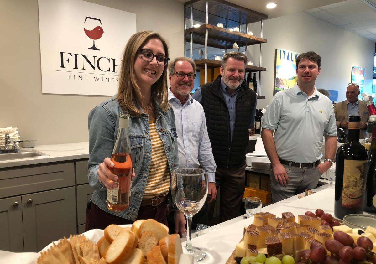 Finch Fine Wines, a new wine store and service that includes 3000 wines online with next day delivery