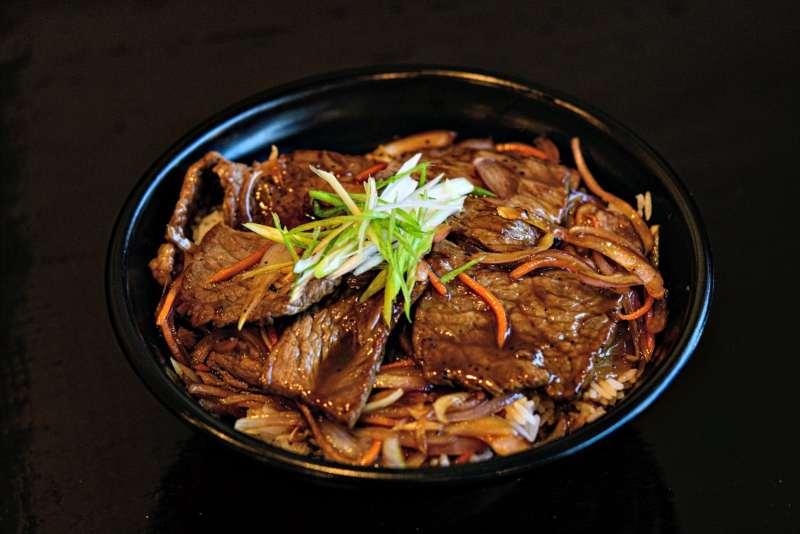 Rice bowl at Ikko
