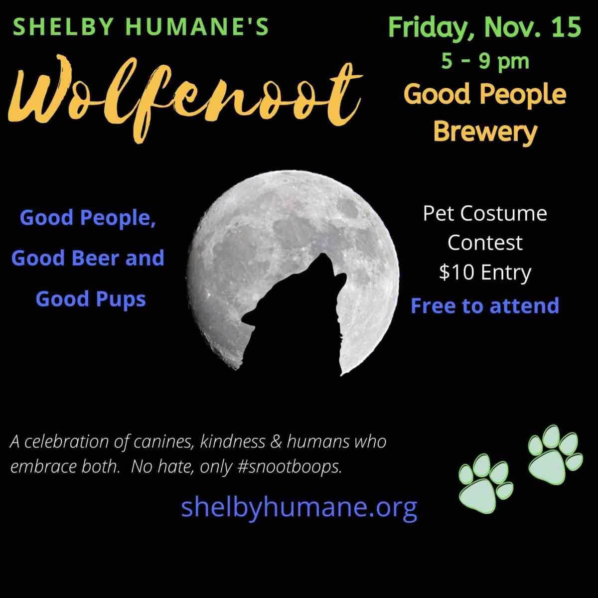 Shelby Humane's Wolfenoot