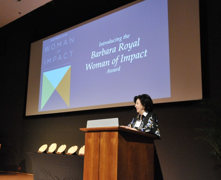 Woman of Impact Award