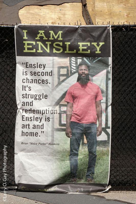 Ensley Alive poster