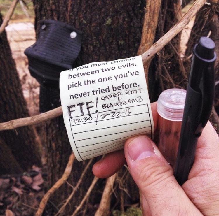 a cache log