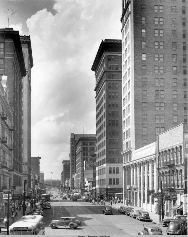 John Hand Building in 1950