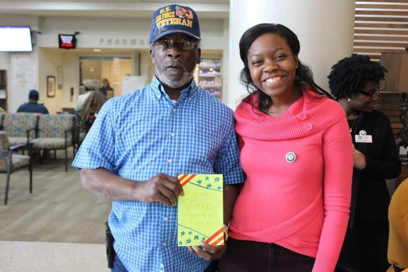 A Birmingham nonprofit volunteers at the VA Medical Center.