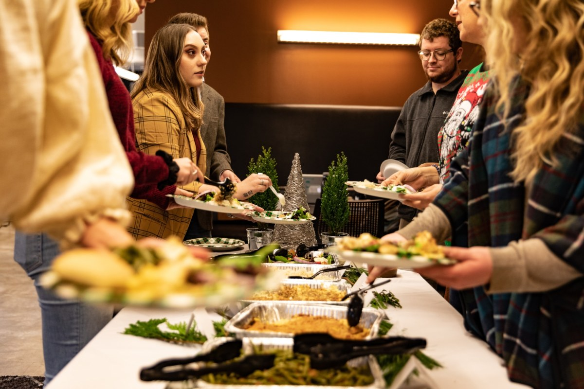 Be the holiday party hero and get your gathering catered by Ashley Mac's. Win $100 credit!
