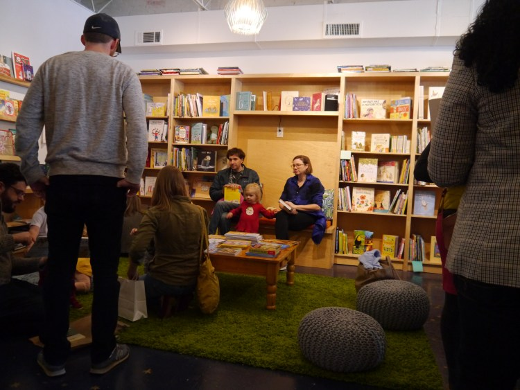 Children's area at Thank You Books