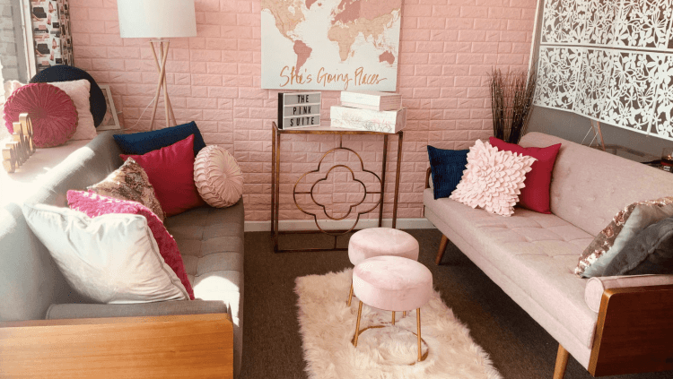Birmingham, Trussville, The Pink Suite, The Pink CBD Store, co-working space