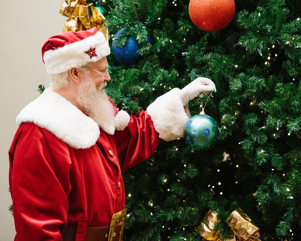 White Glove Santa