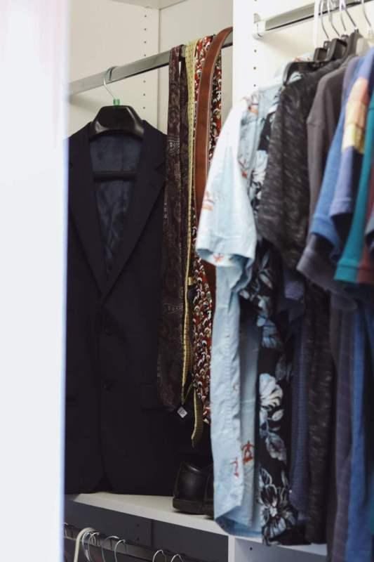 custom closet for teenage boy