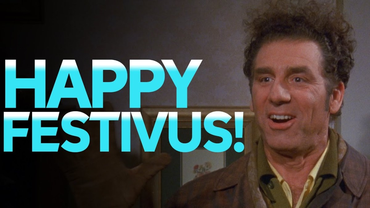 It's a Festivus miracle! We found 2 poles. Celebrate the Seinfeld-inspired holiday on Dec. 23