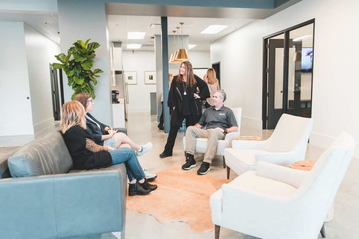 Hoover's Stadium Trace Village adds new concept office for ARC Realty. [PHOTOS]