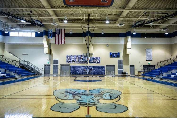 Ramsay basketball gym