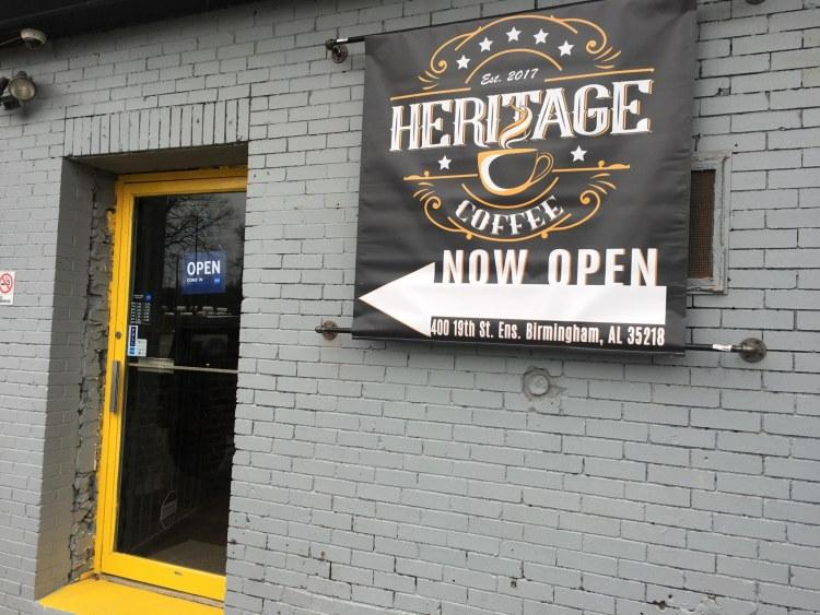 Heritage Coffee in Ensley