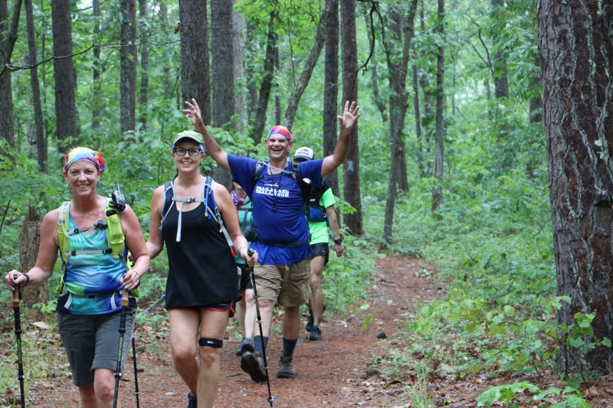 Hike 26.3 miles + grant wishes. Be a Trailblazer with Make-A-Wish Alabama!