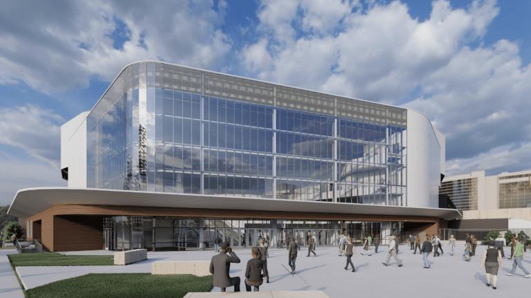 Legacy Arena at The BJCC exterior rendering