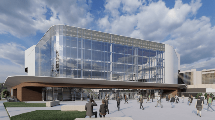 Legacy Arena at The BJCC exterior rendering
