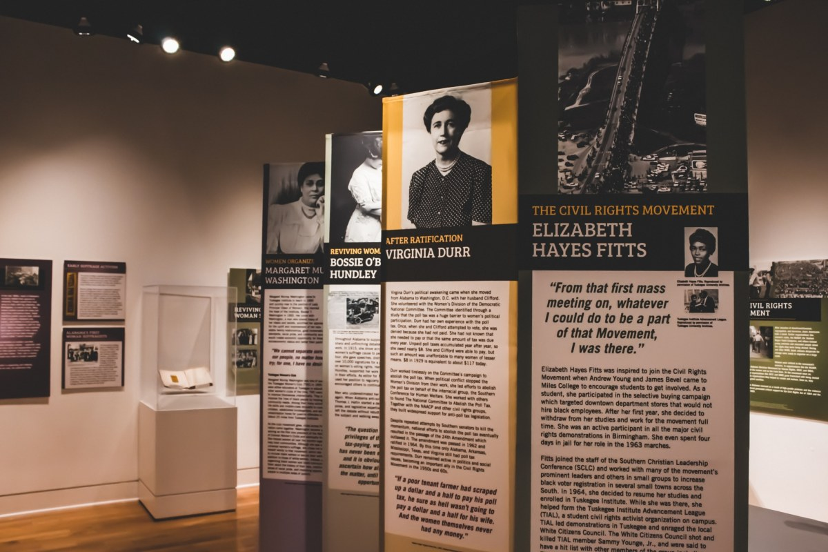 Sneak peek at the new women's suffrage exhibit at Vulcan Park & Museum, opening Jan 17
