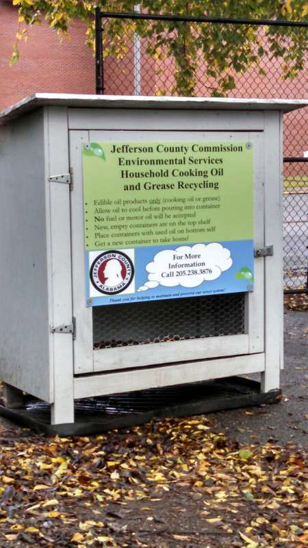 oil recycling in Jefferson County