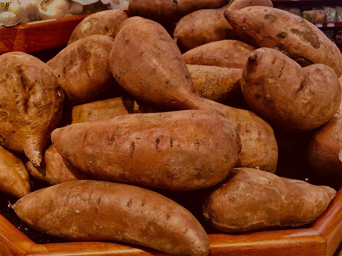 Let the debate begin. Should the sweet potato be declared Alabama's state veggie?
