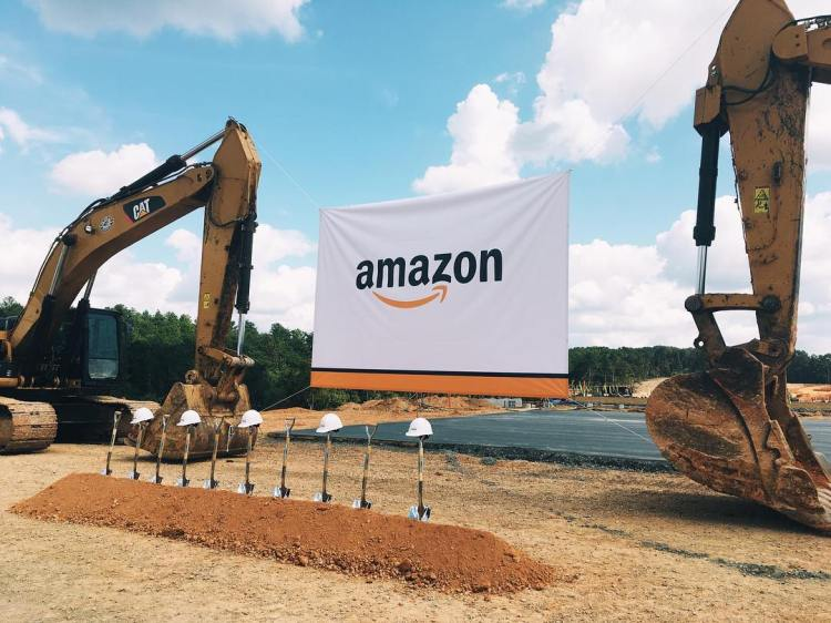 groundbreaking at Bessemer Fulfillment Center