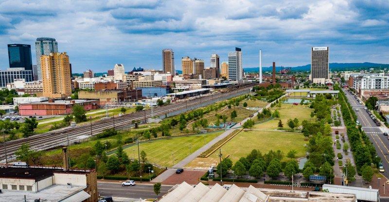 Birmingham, Railroad Park