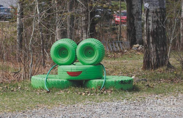 smiley face tires