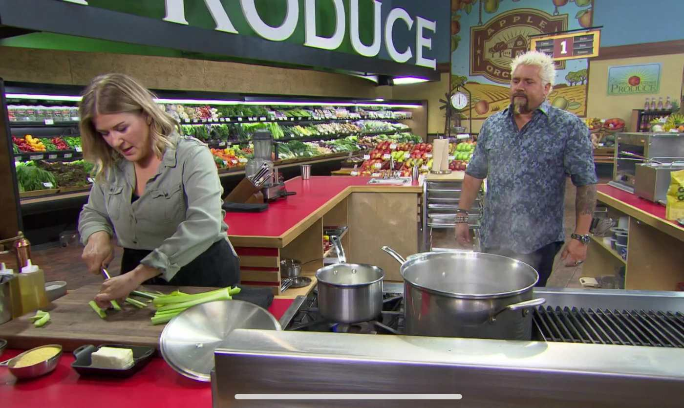 lindsey noto on guys grocery show